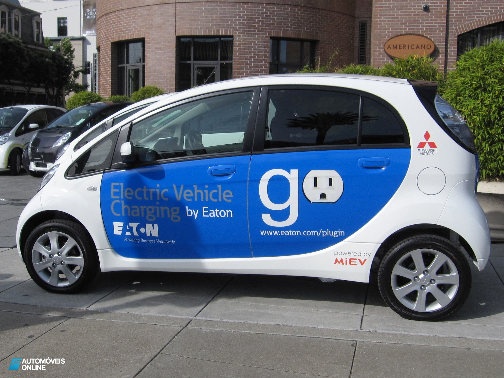 Mitsubishi Motors lança carro eléctrico no mercado