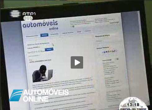 Automoveis-Online no Telejornal da RTP