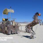 carro cavalo de chapa