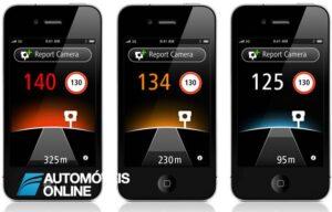 A marca de GPS TomTom lança app iPhone para identificar radares