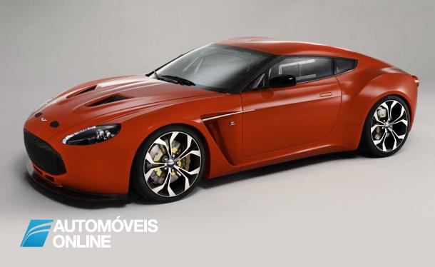 Aston Martins Corte de produção V12 Zagato