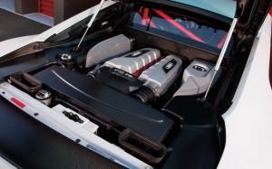Audi R8 GT engine