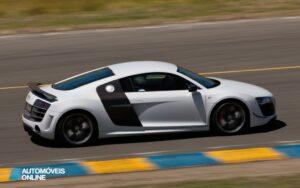 Audi R8 GT profile track