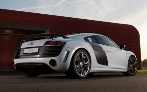 Audi R8 GT rear three quarter