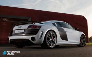 Audi R8 GT rear three quarter