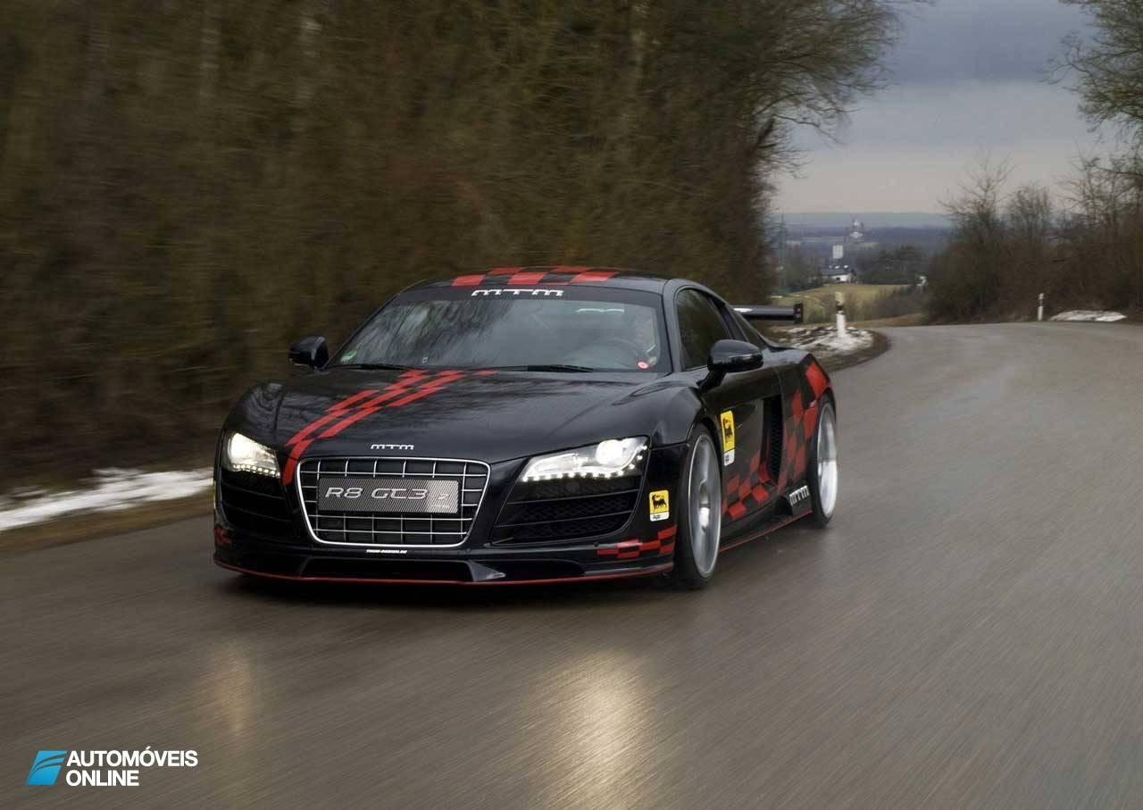 Audi R8 MTM GT3-2 no circuito