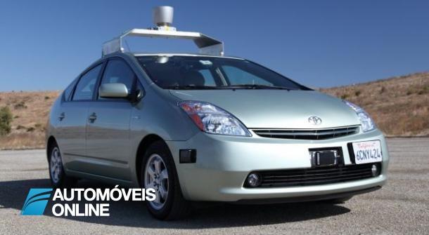 Carro sem condutor já está a ser testado