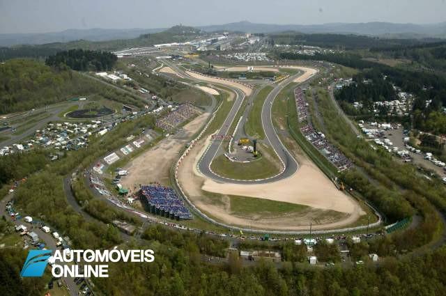 Circuito de Nurburgring à beira da falência