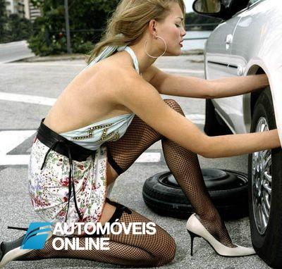 Como trocar o pneu do seu carro?