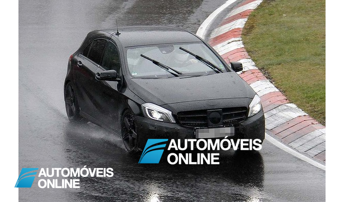 Espectacular! Primeiras do Mercedes-Benz Classe A45 AMG