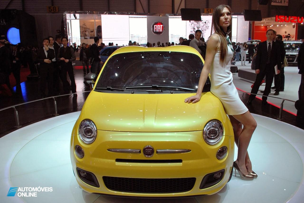 Espetacular! Fiat 500 Zagato começará a ser produzido em 2013