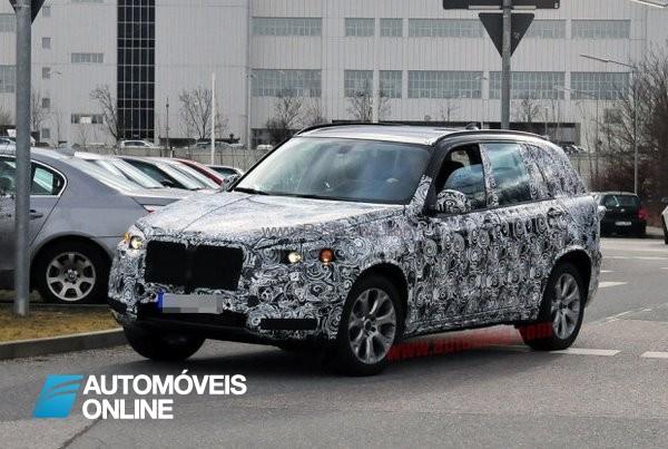 Espiado o novo BMW X5