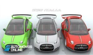 Fantástico! Fiat 500 Italia com 550 cv