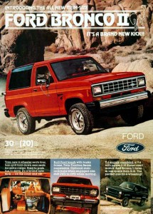 Ford Bronco II 1983