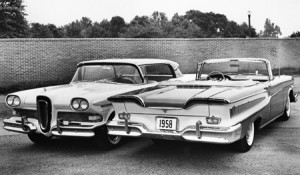 Edsel Hardtop and Convertible