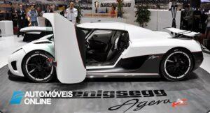 Koenigsegg Agera R side