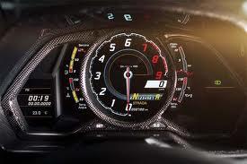 Lamborghini Aventor Carbono painel de instrumentos