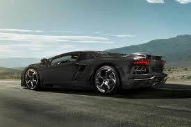 Lamborghini Aventor Carbono perfil tras