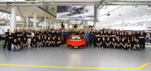 Lamborghini aventador mil unidades vendidas