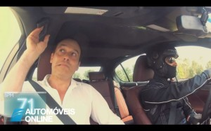 Lexus GS450h hybrid acção de marketing leva clientes aos seus limites