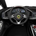 Lotus Esprit interior vista volante 2013