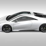 Lotus Esprit traseira perfil esquerdo 2013