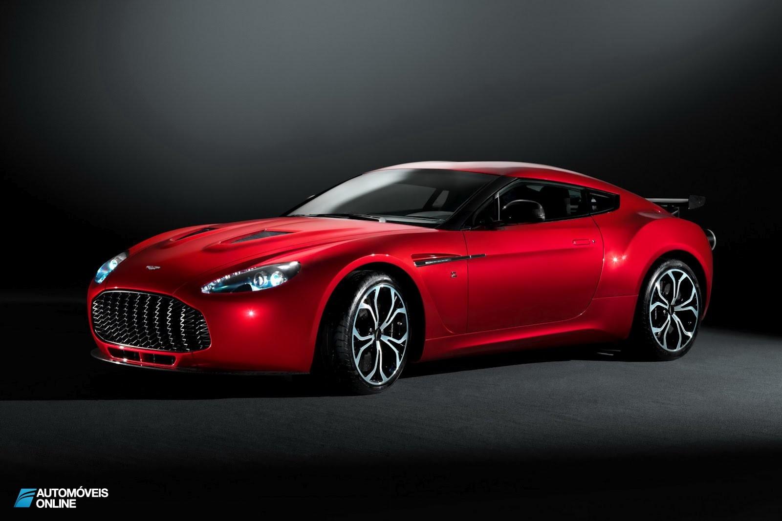 Muito Elegante. Aston Martin V12 Zagato oficialmente apresentado