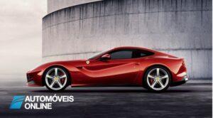 New Ferrari F12 Berlinetta perfil esquerdo