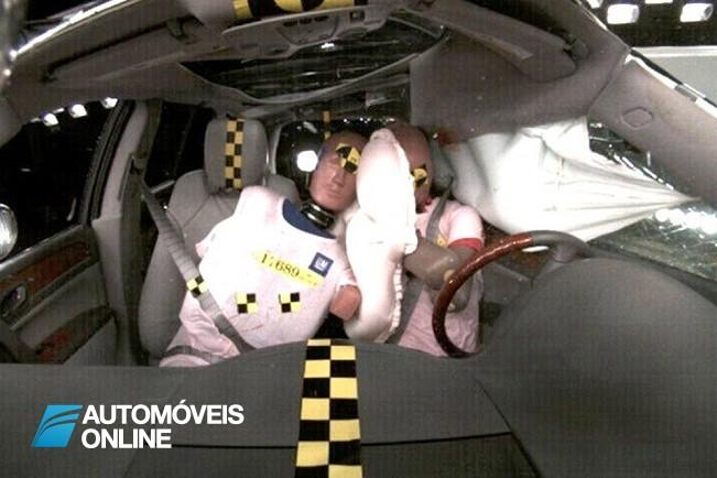 Novidade! GM cria Airbag central frontal
