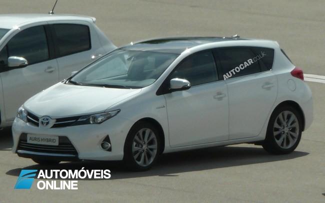 Novo Toyota Auris revelado