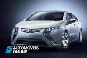 Opel Ampera carro eléctrico visao frente esquerda
