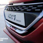 Peugeot 208 GTi Concept 2013 para-choques frente