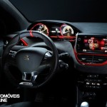 Peugeot 208 GTi Concept 2013 perfil vista tablier