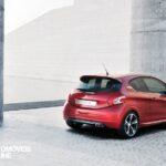 Peugeot 208 GTi Concept 2013 perfil traseira direita