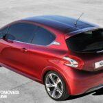 Peugeot 208 GTi Concept 2013 perfil vista cima
