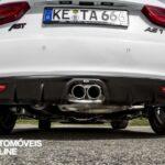 Preparação ABT Audi A1 Sportback AS1 duplo escape difusor de carbono
