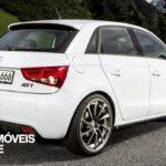 Preparação ABT Audi A1 Sportback AS1 traseira direita