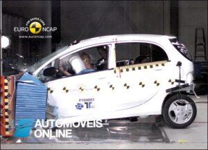 Primeiro Carro eléctrico a passar no teste EuroNCAP