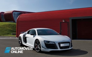 Revelado o novo Audi R8