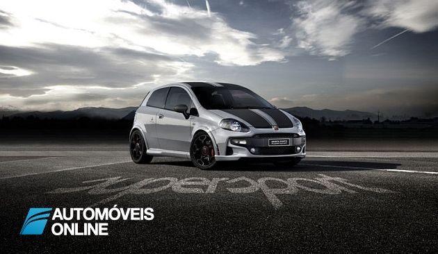 Só 199 unidades! Abarth Punto Supersport 180 CV