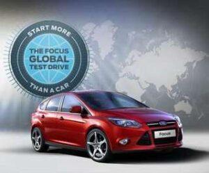 """Sabe o que é o """"Focus Global Teste Drive""""?"""
