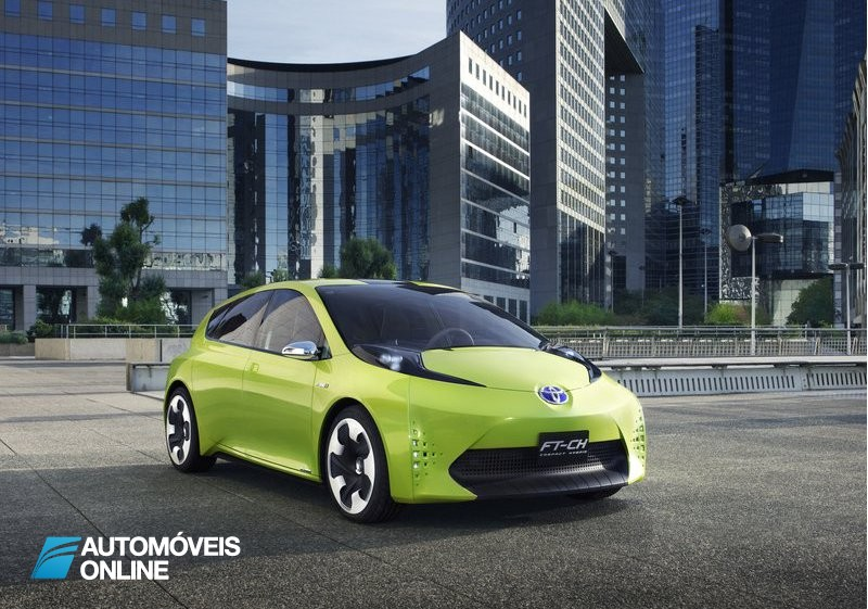 Primeira amostra do Toyota FT-CH Concept car