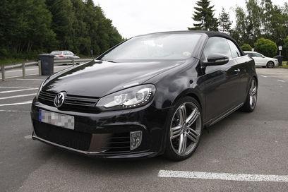 Volkswagen já não esconde VW Golf R Cabriolet