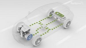 volvo recharge sistema de motores eléctricos