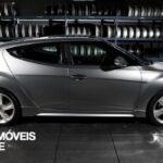 Hyundai Veloster Turbo Driving view perfil direito