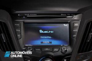 Hyundai Veloster Turbo Driving view radio