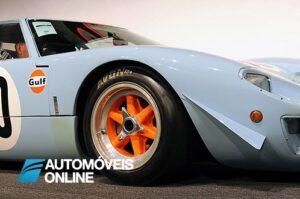 Ford GT40 1967 frente direita