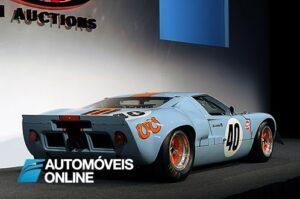 Ford GT40 1967 frente esquerda