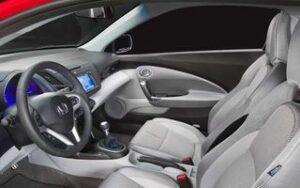 Honda CR-Z - O novo coupé híbrido interior frente