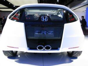Honda CR-Z - O novo coupé híbrido vista trás
